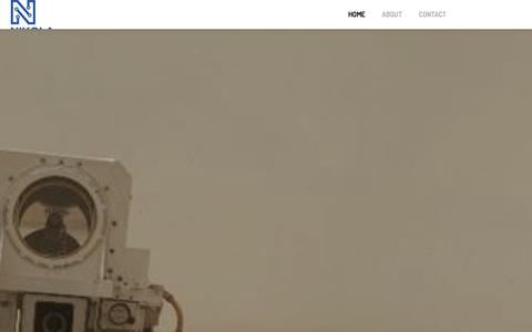 Screenshot of Home Page nikolalabs.com - Nikola Electronic R&D Lab - captured Oct. 10, 2014