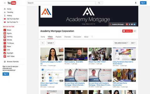 Academy Mortgage Corporation  - YouTube