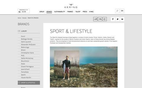 Sport & Lifestyle | Kering