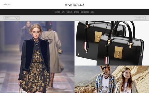 Screenshot of Blog harrolds.com.au - Blog | Harrolds - captured Dec. 5, 2015