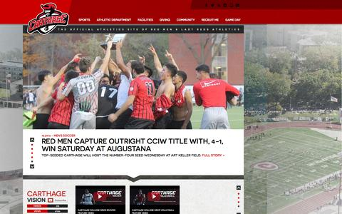 The Official Athletics Site of Carthage College Red Men & Lady Reds Athletics