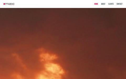 Screenshot of Home Page mozoo.com - Mozoo - Mobile Innovation - captured Sept. 30, 2014