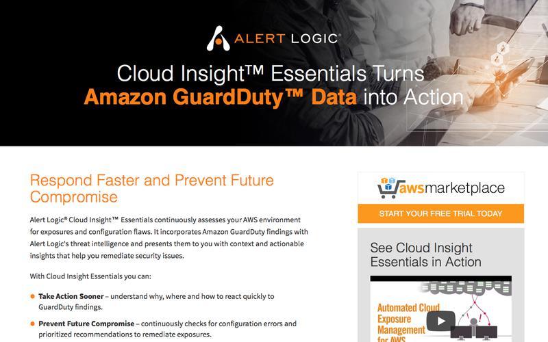 Alert Logic Cloud Insight Essentials