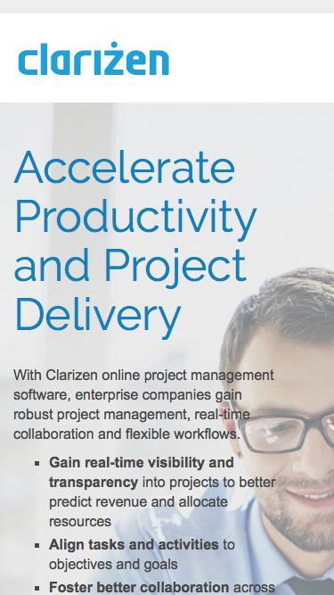Online Project Management Software l Clarizen