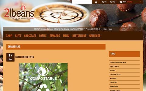 Screenshot of Blog 2beans.com - 2beans - captured Oct. 27, 2014