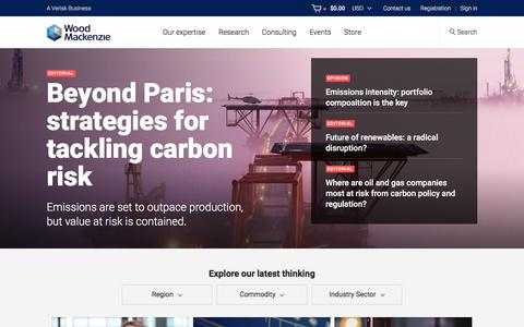 Wood Mackenzie | Energy Research & Consultancy