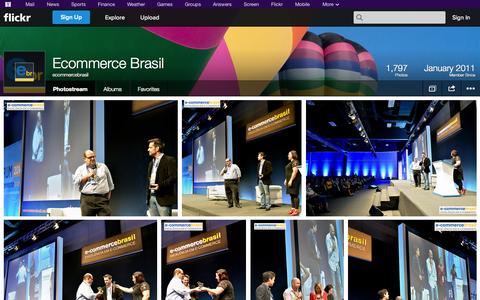 Screenshot of Flickr Page flickr.com - Flickr: ecommercebrasil's Photostream - captured Oct. 22, 2014