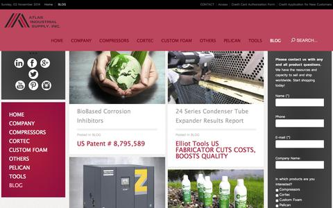 Screenshot of Blog aishouston.com - BLOG - captured Nov. 2, 2014