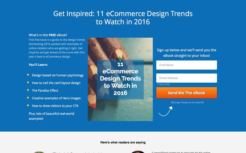 The best eCommerce Design Trends by LemonStand