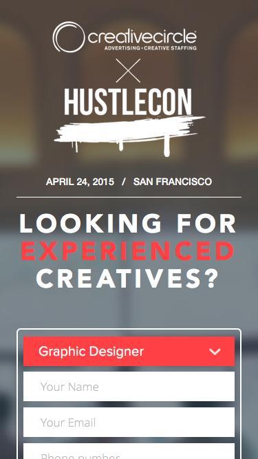 HustleCon | Creative Circle
