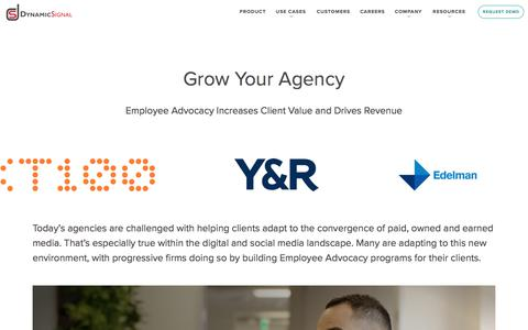 Grow Your Agency | Dynamic Signal