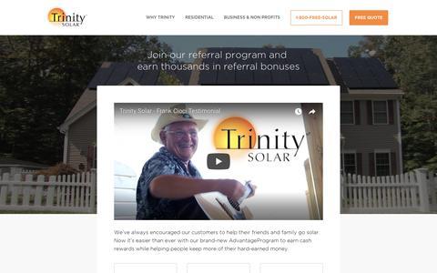 Screenshot of Signup Page trinity-solar.com - Sign Up - Trinity-Solar - captured Sept. 23, 2017