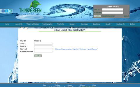 Screenshot of Signup Page zsenviro.com - ZS Enviro Consultants - captured Oct. 7, 2014