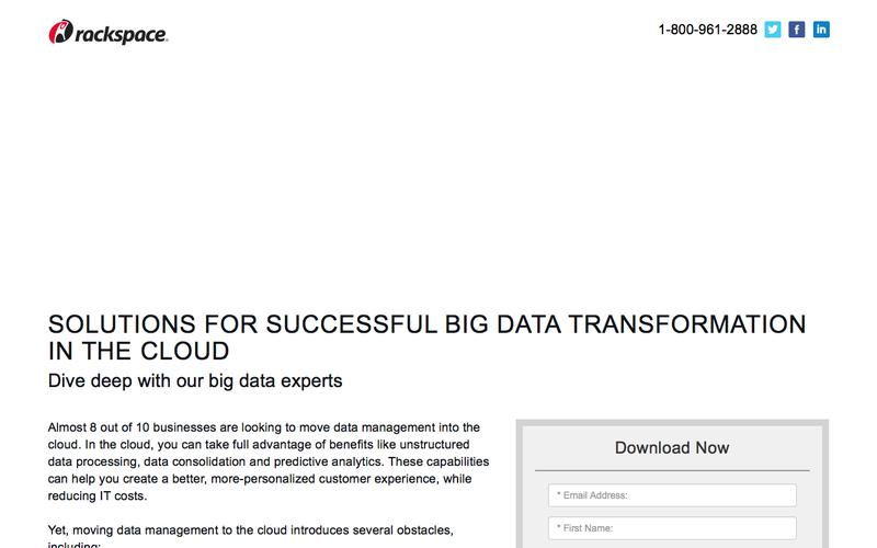 Overcome the Challenges of Moving Big Data to the Cloud