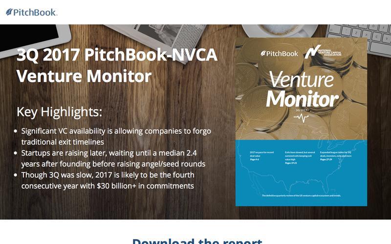 3Q 2017 PitchBook-NVCA Venture Monitor