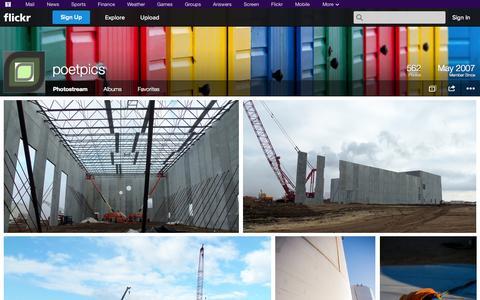 Screenshot of Flickr Page flickr.com - Flickr: poetpics' Photostream - captured Oct. 22, 2014