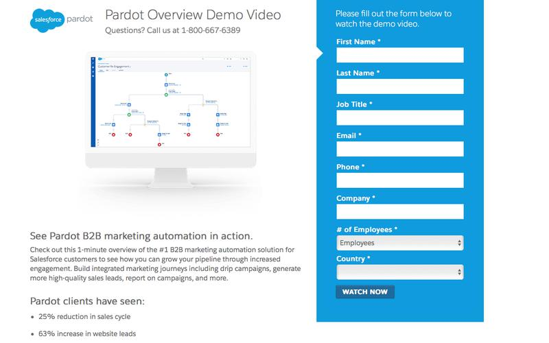Pardot Demo Video