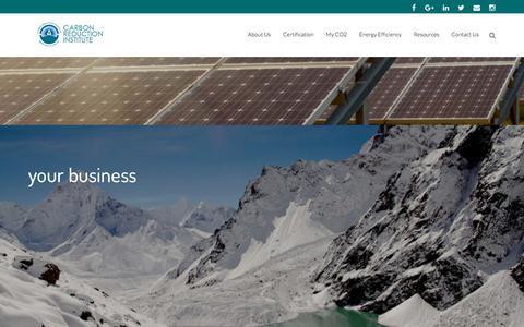 Screenshot of Home Page noco2.com.au - Home - NoCo2 - captured Oct. 11, 2017