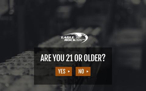 Screenshot of Press Page eaglerocks.com - Eagle Rock Distributing Company > News & Events > News - captured Oct. 1, 2014