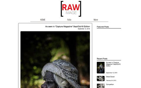 Screenshot of Blog rawimage.com.au - Raw Image,Photographer,Tony McDonough, Blog - captured June 12, 2017