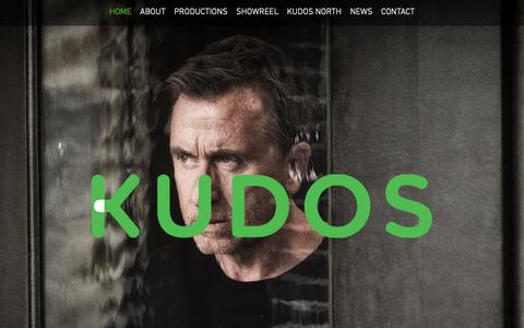 Screenshot of Home Page kudos.co.uk - Kudos | Television Production Company - captured Oct. 16, 2018