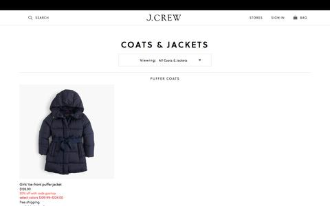 Girls' Jackets & Trench Coats : Girls' Outerwear | J.Crew