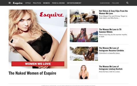 Sexy Women We Love - Beautiful Women That Are Smart & Awesome - Esquire