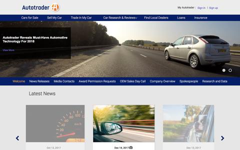 MediaRoom Welcome -  Autotrader.com