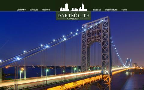 Screenshot of Home Page dartco.com - The Dartmouth Company - captured Feb. 24, 2016