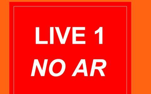 Screenshot of Home Page live1.com.br - LIVE 1   - NO AR  -   NO AR...!!! - captured Aug. 19, 2017