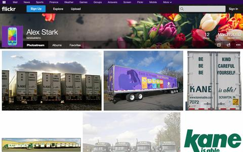 Screenshot of Flickr Page flickr.com - Flickr: kaneisableinc's Photostream - captured Oct. 23, 2014