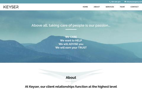 Keyser Insurance Group | Where Security and Freedom Meet