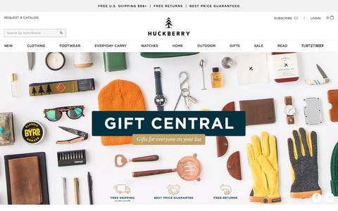 Huckberry Gift Central | Huckberry