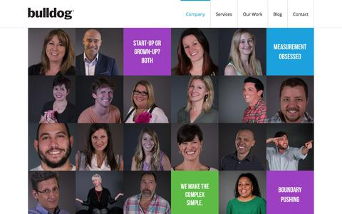 Screenshot of About Page bulldogsolutions.com - Our Approach | Bulldog B2B Marketing Strategies that Win| The Bulldog Approach - captured Jan. 3, 2016