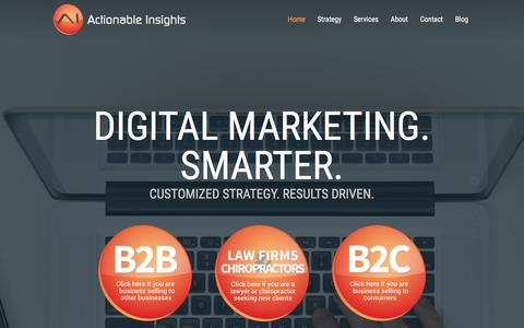 Digital Marketing Smarter | Actionable Insights
