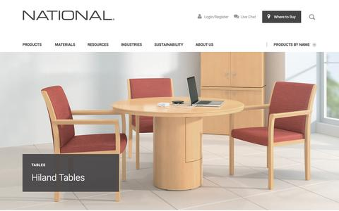 Hiland Tables | National Office Furniture