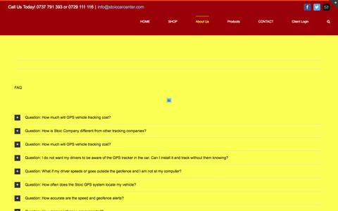 Screenshot of FAQ Page stoiccarcentre.com - FAQ – Stoic Company Limited - captured Dec. 2, 2016