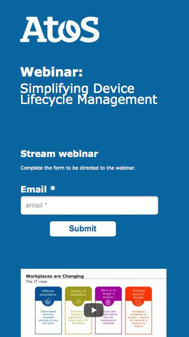 Webinar: Simplifying Device Lifecycle Management