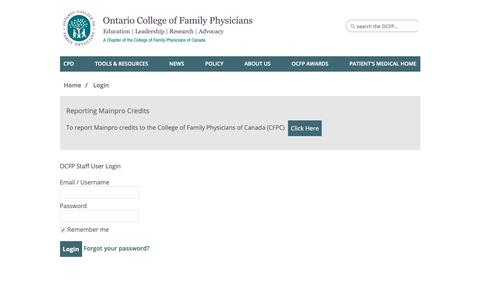 Healthcare & Medical Login Pages on Telerik Sitefinity