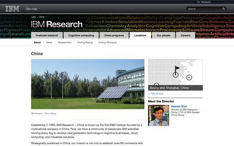 IBM  Research - China