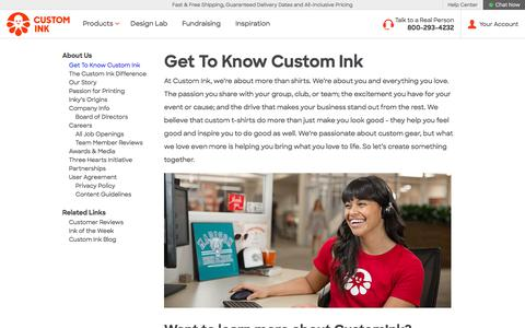 Custom Ink - About Us