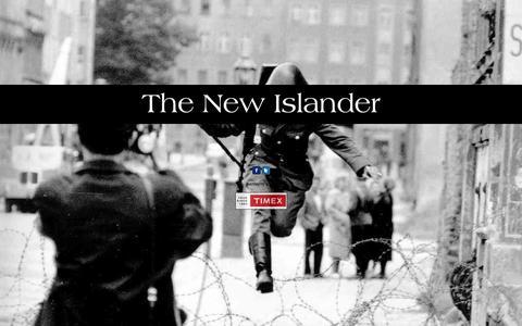 Screenshot of Home Page newislander.com - The New Islander - captured Feb. 28, 2016
