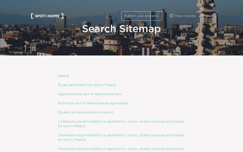 Sitemap | Spotahome