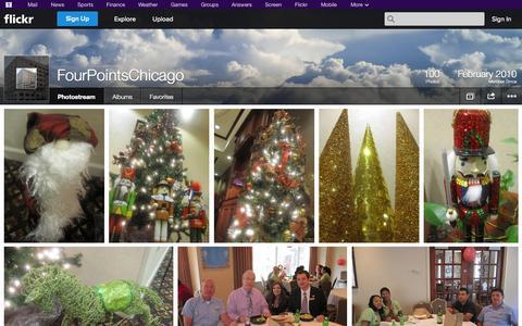 Screenshot of Flickr Page flickr.com - Flickr: FourPointsChicago's Photostream - captured Oct. 23, 2014