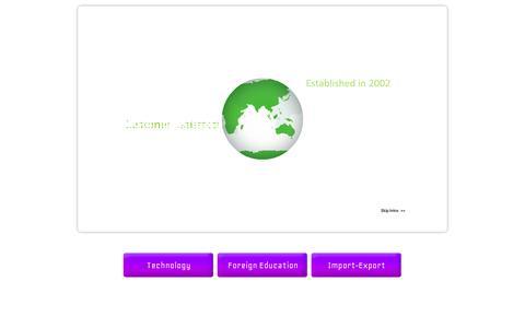 Screenshot of Home Page juncturetech.net - Juncture Group Of Companies - captured Oct. 6, 2014