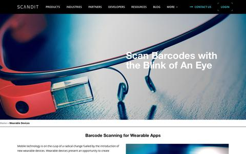 Wearable Devices - Scandit