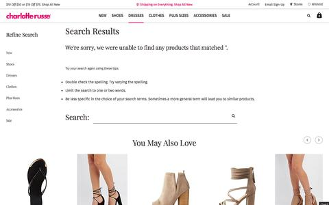Search Results | Charlotte Russe