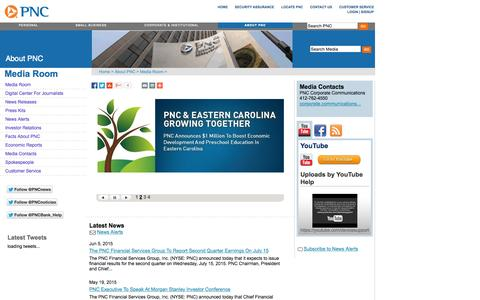 PNC Financial Services Group MediaRoom
