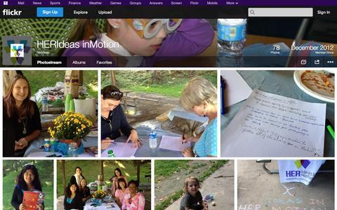 Screenshot of Flickr Page flickr.com - Flickr: herideas' Photostream - captured Oct. 22, 2014