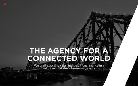 Screenshot of Home Page raw-marketing.com.au - Demand Generation Marketing Agency | RAW Marketing - captured Sept. 20, 2018